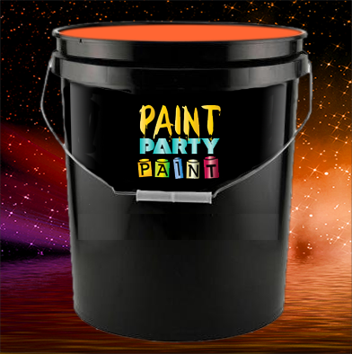 5 gallon uv effects paint orange jena consulting llc for 5 gallon bucket of paint price